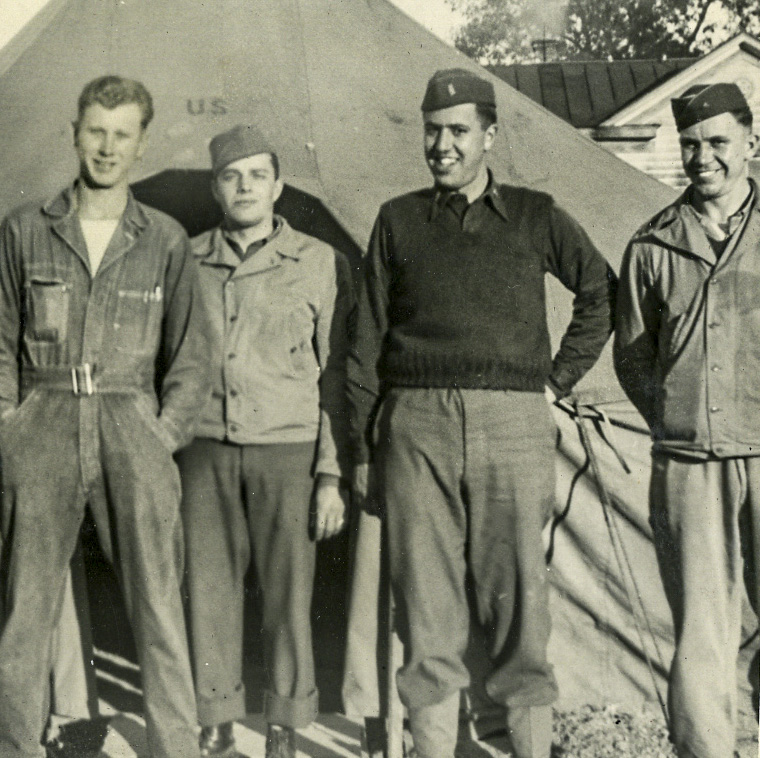 Camp Kilmer, New Jersey November 24, 1942 – December 20, 1942